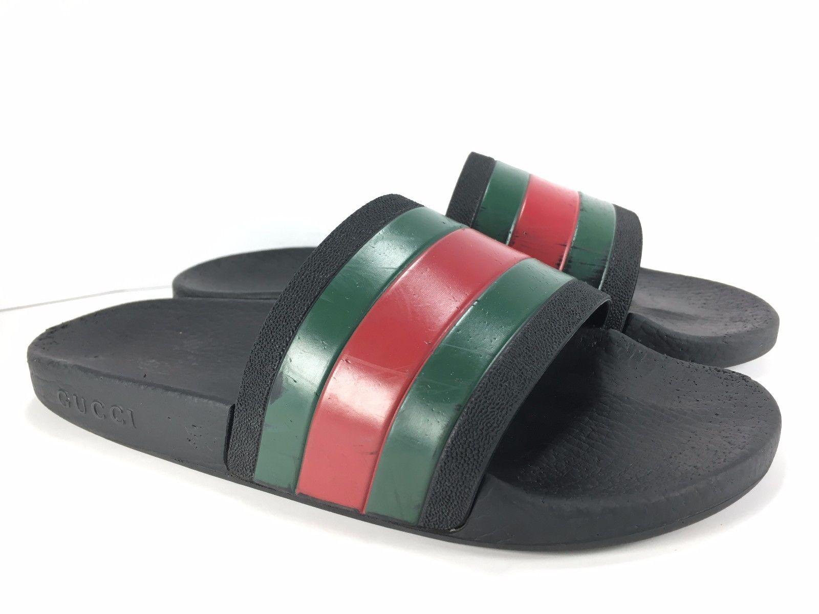 2915b2086cc6 gucci-flip-flop-rubber-slide-men-sandal-size-6 -1d2a8cfef3f66492f76224695d7769e2