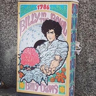 wizerunek Billy'ego na ulicach dzisiejszego Dublina