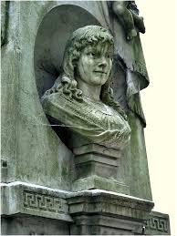 Pomnik na grobie Marii Wisnowsiej