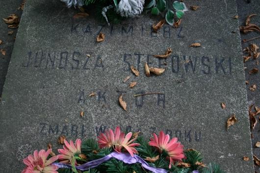 grób K. Junosza-Stępowskiego